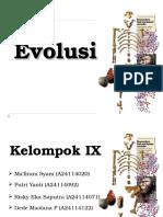 Evolusi Kel.ix Kelas B