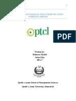 CAse Study on Pakistan Telecommunication Company Limited