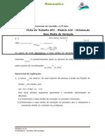 A Taxa Média de Variação de uma Função