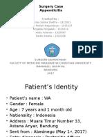 Case Appendicitis  Ppt