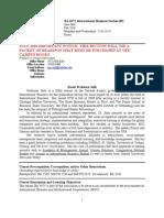 UT Dallas Syllabus for ba4371.001.10f taught by Jane Salk (jes025000)