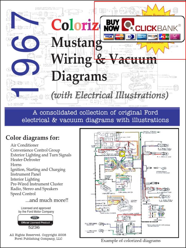 1967 Mustang Wiring Diagram Vacuum Diagram Pdf Demo