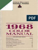 1968 Domestic Color