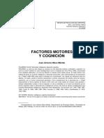 Factores Motores y Cognición