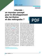 L Offre Territoriale Un Nouveau Concept Pour Le Développement Des Territoires Et Des Métropoles