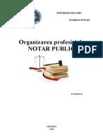 Organiz Prof de NOTAR