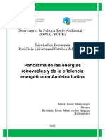 Panorama de Las Energias