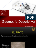 geometria descriptiva  intersección con rectas
