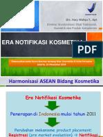 Materi Seminar Periklanan Kosmetika Untuk PERKOSMI 16 Des 2014