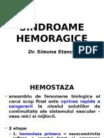 CURS Sindroame Hemoragice