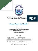 Online Research on Rado