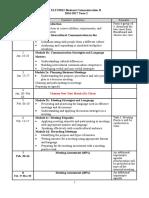 3012 2016-17 T2 Tentative Course Schedule (Student)