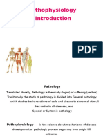 Pathophysiol Introduction - St