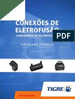 Conexões de Eletrofusão de PEAD TIGRE