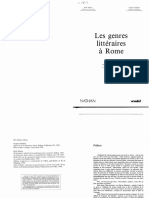 Martin-Gaillard Genres Litteraires Rome