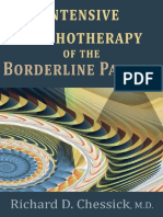 Intensive Psychotherapy of the Borderline Patient