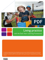 Living Practice With the Eylf