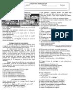 Atividade Avaliativa de Lingua Espanhola 1 Av