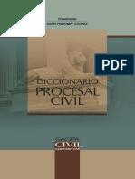 GACETA JURIDICA - DICC PROC CIVIL