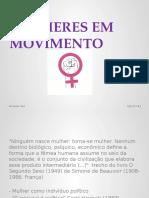 Apresentação - Mulheres em movimento
