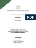 Ingeniería de Las Telecomunicaciones - Colaborativo 2