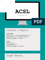 acsl 16-17 contest 4 notes - graph theory de assembly