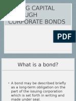 Rasing Capital Through Corporate Bonds