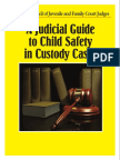 Judicial Guide to Child Safety in Custody Cases