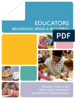 Edcators_Belonging, Being & Becoming