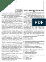 Atividade Avaliativa de Lingua Espanhola 4 Av. (2 Ano)