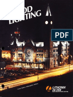 Lithonia Floodlighting Brochure 1989