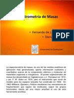 Espectrometria de Masas