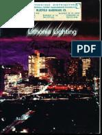 Lithonia Fluorescent Lighting Catalog 1971