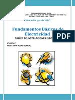 FUNDAMENTOS BÁSICOS DE LA ELECTRICIDAD