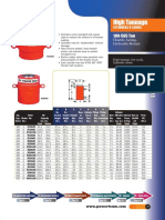 Equipment Data Sheet 200t Hydraulic Jacks