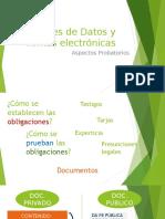 Clase sobre mensajes de datos y firmas electrónicas . Ley Venezolana - Marzo 2017