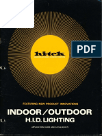 Lithonia Hi-Tek Indoor & Outdoor Lighting Catalog 1975
