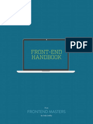 Front End Handbook | Document Object Model | Hypertext