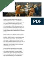 Sokrates'in Savunması Ve Atina'Dan Günümüze Ölüm Cezası