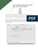 instalar aplicaciones de cualquier sitio en macOS Sierra.docx