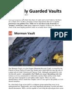 Artikel Listverse 10 Highly Guarded Vaults