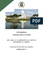 Formato PIS 2017-1S