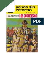 Hare Burton - Col Punto Rojo 259 - Los Justicieros - Senda Sin