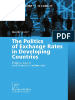 Setzer - The Politics of Exchange Rates in Developing Countries; Political Cycles and Domestic Institutions (2006)