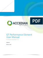 GT v7 0 x Performance Element User Manual