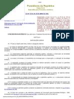 Lei 13123 - Lei Da Biodiversidade
