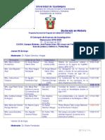 III Coloquio Avances Investigacion Doctorado Programa