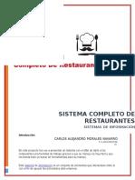 Sistema Completo de Restaurantes (1)