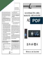 Manual Ad2601