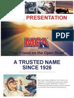 MCA Presentation Book